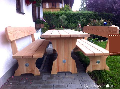 Gartenmöbel aus lärchenholz  Holzvielfalt von Paul Wenig, Lenggries